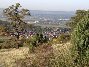 Blick überm Tal