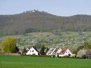 Seegemeinde Bissingen mit Burg Teck