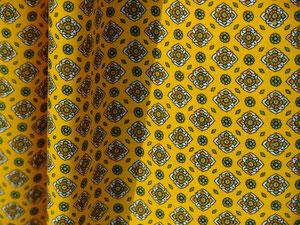 Provence, kleines Muster auf Gelb