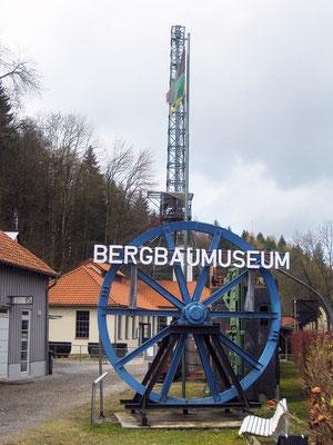 Knesebeckschacht (Knesebeck Shaft) in the Bad Grund mine. Photographer: Matthias Becker; source: de.wikipedia.org
