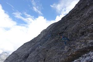 Fründenhorn SW Grat, Südwestgrat, Westgrat, Fründehorn, Fründenjoch, Zustieg, Doldorphin, Fründenhütte, Oeschinensee, Abstieg Normalweg, Fixseile