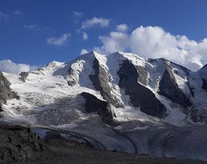 Piz Palü, Ostpfeiler, östlicher Nordwand Pfeiler Piz Palü, östlicher Nordwandpfeiler