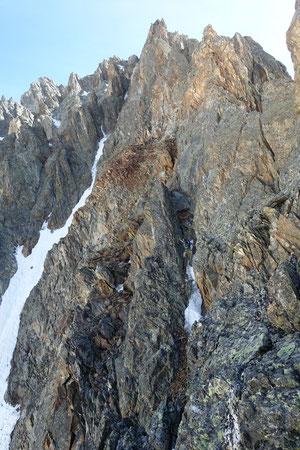 Gwächtenhorn SSW-Grat, Gwächtenhorn-SSW-Grat, Gwächtenhorn Südsüdwestgrat, Süd-südwestgrat
