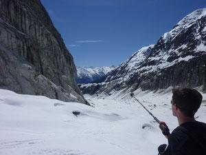 Fieschergletscher, Burghütte, Finsteraarhorn, Jungfrauregion, Skitouren, SChweiz