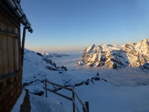Berglihütte, Jungfrau, Skitouren, Schweiz