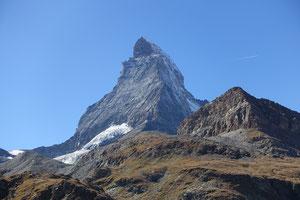 Matterhorn, Horu, Hörnligrat, Bersteigen, Zermatt, Schweiz