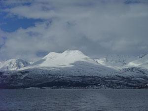 Kavringstind Lyngenalpen Skitour