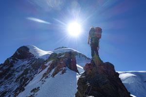 Jungfrau, Rotbrettgrat, Rotbrättgrat, Silberhorn