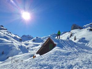 Skitour, Hausstock, Elm, Schweiz, Panixer Pass