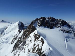Dufourspitze, Nordend, Monte Rosa, Margueritahütt, Signalkuppe, Zumsteinspitze, Skihochtour, Monterosa