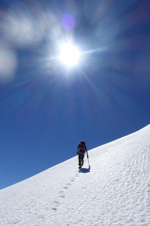 Gross Ruchen Nordwand, Bergtour, Hochtour, Uri, Klausenpass, Traverse zum Normalweg