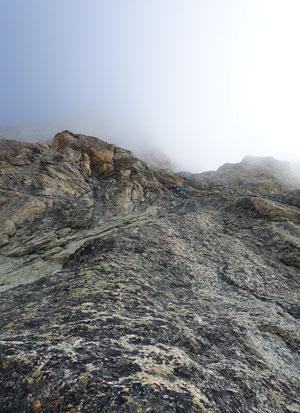Matterhorn, Hochtour, Obergabelhorn, Südwand