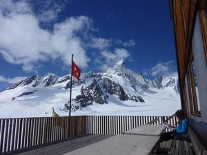 Finsteraarhornhütte, Jungfraugebiet, Skitouren, Schweiz