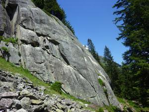 Göscheneralp, Kompressorwand, Dolca, klettern, Schweiz, Trad