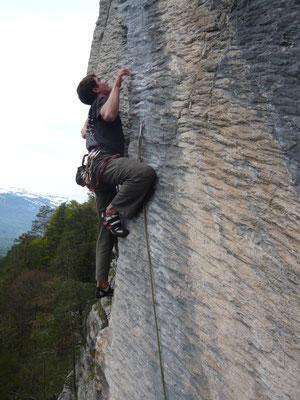 Klettern, Fläsch, Matlusch, Wellenreiter