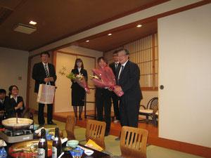 中屋先生、徳島大学での47年間のご勤務