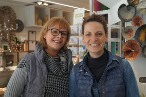 Anja Laumann und Silke Göbbels