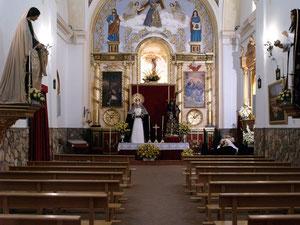 Panorámica de la ermita Madre de Dios.