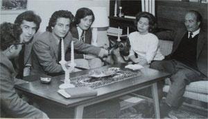 1973 The family Barbaranelli in Tejina - Tenerife