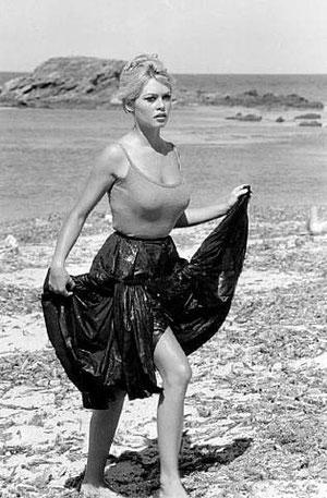 Brigitte Bardot in Saint