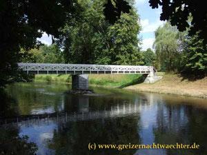 Greiz Park Luftbrücke Stadtführung Stadt Flur Sommerpalais