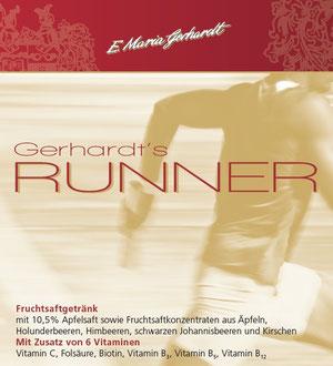 Etikett Gerhardt's Runner