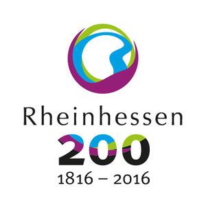 Jubiläumslogo Rheinhessen-Wein