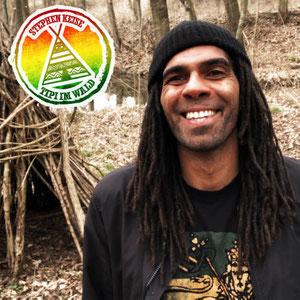 Stephen Keise - Tipi im Wald