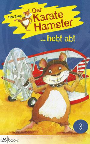 "Cover ""Der Karatehamster startet durch"""