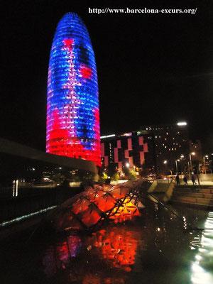 Вечерняя Барселона