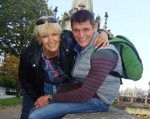 гиды в барселоне Сергей и Татьяна