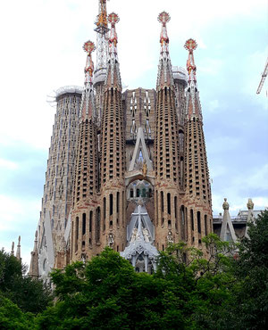 Ла Саграда Фамилия (Барселона)