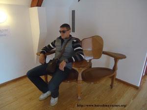 """Вилла """"Капричо"""". Мебель, спроктированная А. Гауди для дома Батльо"""