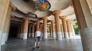 Парк Гуэль - зал ста колонн