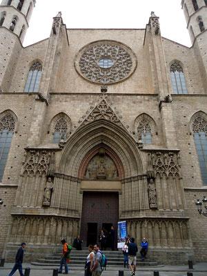 санта мария дель мар, церковь санта мария дель мар барселона, барселона-экскурс, гиды в барселоне, экскурсии в барселоне