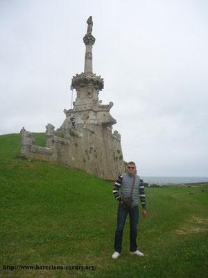Комильяс. Памятник Антонио Лопесу-и-Лопесу, первому маркизу Комильяс