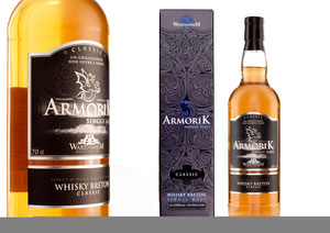 Armorik Single Malt French Whisky receives Exceptional Gold Medal from BTI International Review of Spirits