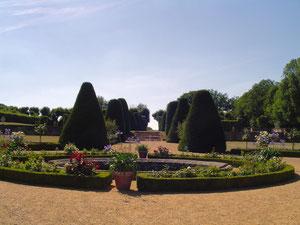 Jardins du Château de La Rongère (Mayenne)