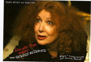 Janina Szarek in der Titelrolle