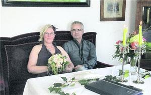 Andrea Schwarz-Geddert und Toni Geddert.rnk
