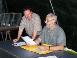 Yves Péreira et Gilles Micard