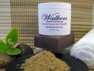 Imported Red Moroccan Clay