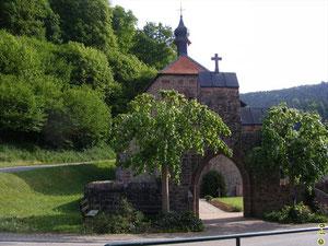 ehemalige Wallfahrtskirche in Schöllenbach