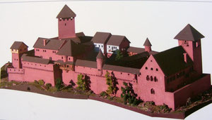 Modell der Burg Wildenberg