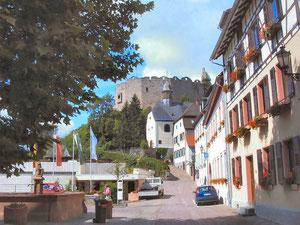 Stadt und Burgruine