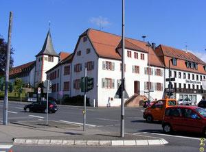 Im Zentrum der Stadt Höchst/Odenwald