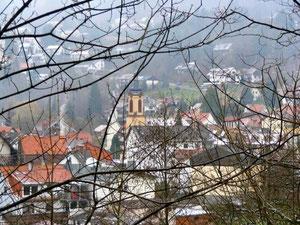 Blick auf Heiligkreuzsteinach