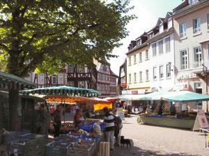 Markttag in Bensheim