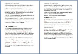 Überarbeitung der / Überarbeitete Tagesberichte