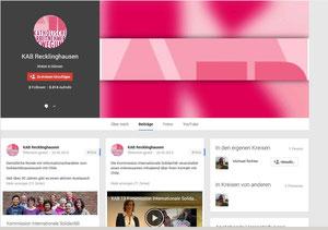Die Google+ Seite der KAB